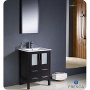 Fresca Torino 24'' Single Bathroom Vanity Set with Mirror