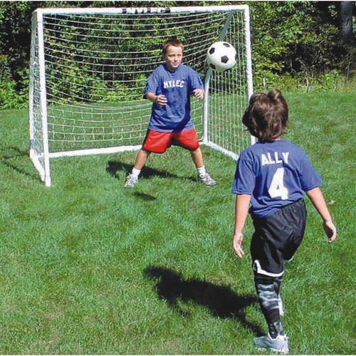 "Indoor/Outdoor Soccer Goal, 72""W x 60""H x 48""D"