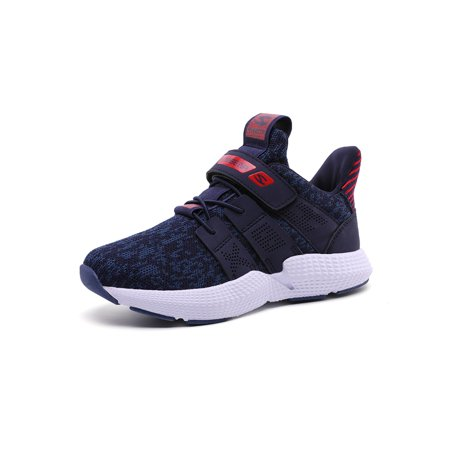 Kids Sneakers Flyknit Comfortable Lightweight Breathable Athletic Sports Shoes