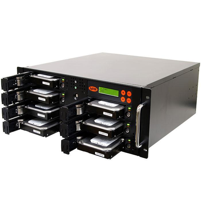 SySTOR 1:6 SATA Hard Disk Drive / Solid State Drive (HDD/SSD) Rackmount Duplicator/Sanitizer - High Speed (150MB/sec)