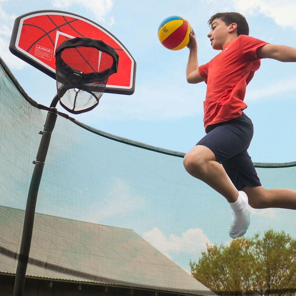 Bazoongi ACC-BSKU Trampoline Basketball Hoop with U-Bolt ...