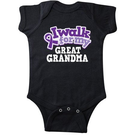 Alzheimers Great Grandma Lupus Awareness Infant Creeper Walmart Com