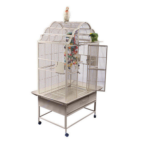 A&e Cages AE-GC6-3628B Large Victorian Top Bird Cage Black by A&E Cage Co.