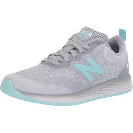 New Balance Kid's Fresh Foam Arishi V3 Lace-Up Running Shoe, Silver Mink/Bali Blue/Silver Metallic, 13 M US Little Kid - image 1 of 1