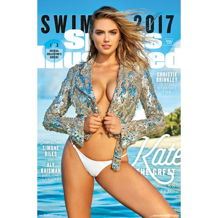 Trends International Sports Illustrated Swimsuit Kate Upton Cover #1 2017 Wall Poster 22.375
