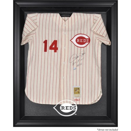 - Cincinnati Reds Fanatics Authentic Black Framed Logo Jersey Display Case - No Size