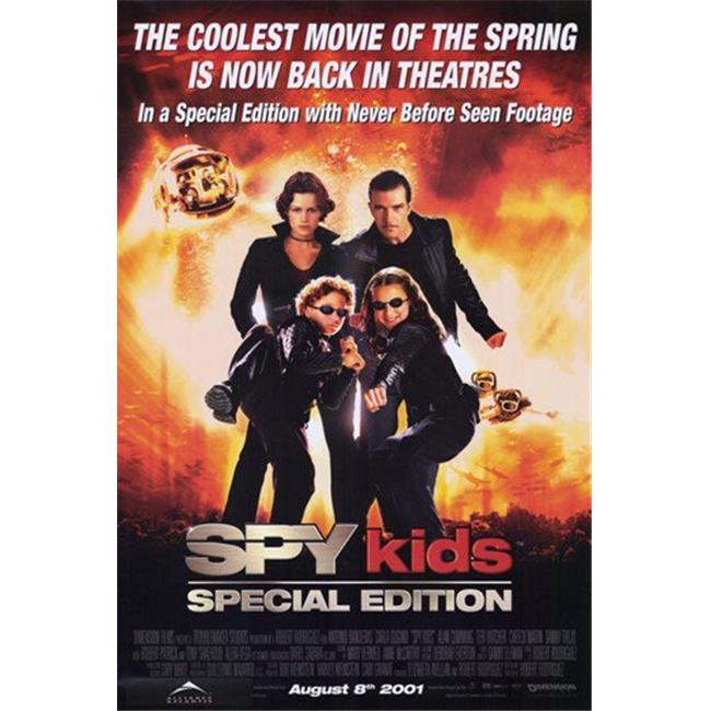Posterazzi MOV193635 Spy Kids Movie Poster - 11 x 17 in. - image 1 de 1
