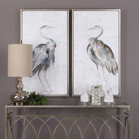 Uttermost Summer Birds Framed Art - Set of 2