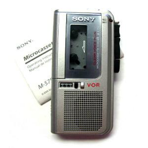 Sony M-627V MicroCassette Recorder M627V Refurbished by EBS by EBS