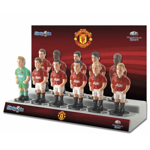 Minigols F.C. Manchester United Team Figures, 11ct