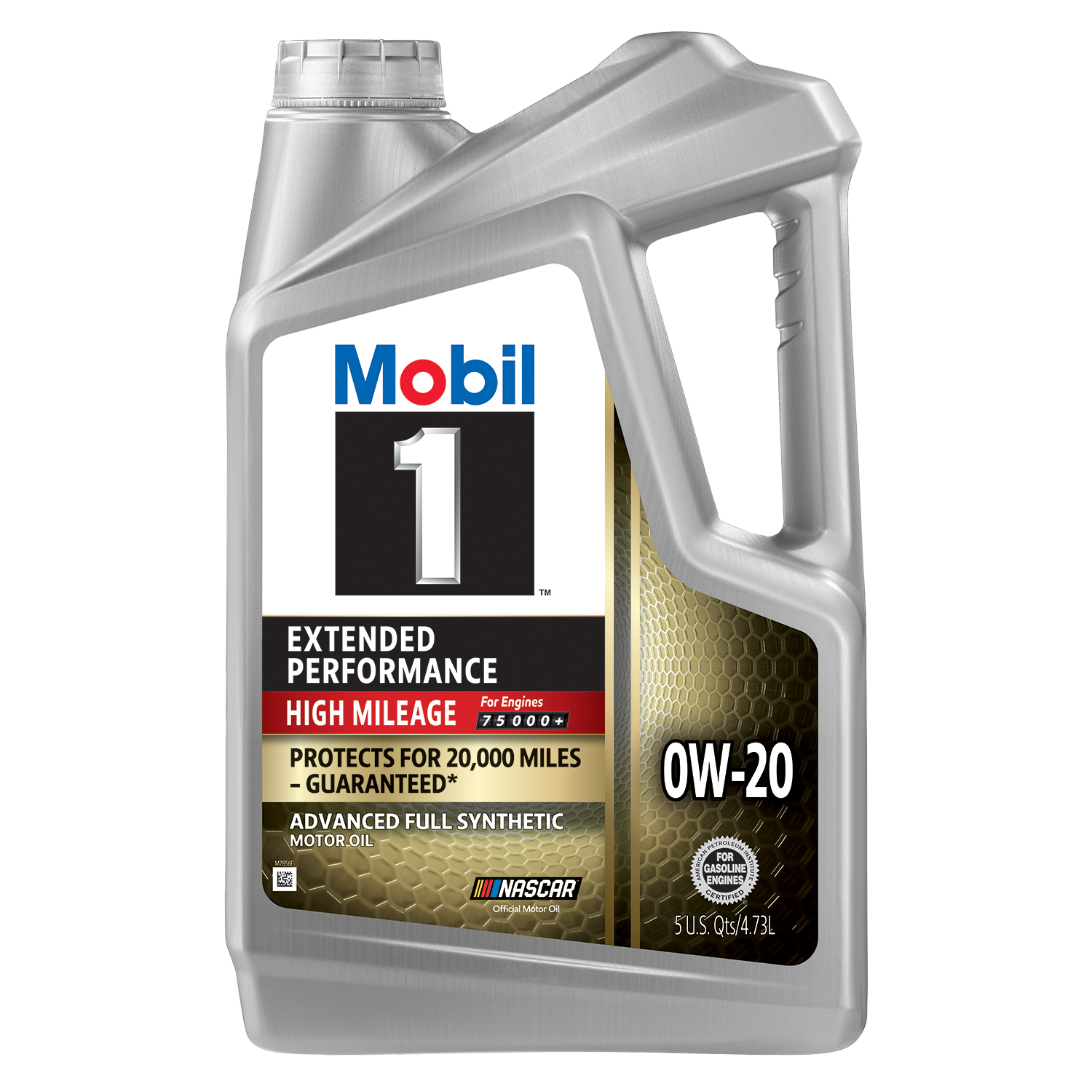 Mobil 1 Extended Performance High Mileage Full Synthetic Motor Oil 0W-20, 5 Quart - Walmart.com