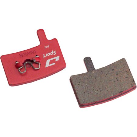 Jagwire Mountain Sport Semi-Metallic Disc Brake Pads for Hayes Stroker Trail, Stroker Carbon, Stroker Gram Hayes Stroker Disc Brakes