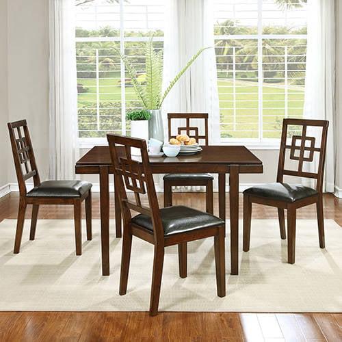 Best Master Furniture Dahlia 5-Piece Dining Room Set by Best Master Furniture