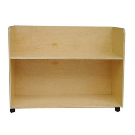 A Child Supply Storage Cart Blocks