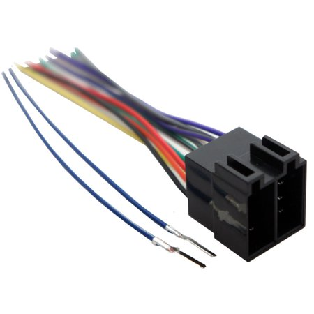 Audi Coupe Quattro 1990-1991 Factory Stereo to Aftermarket Radio Harness Adapter (Audi Radio Harness)