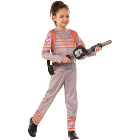 Child's Boys Girls Ghostbusters Ghost Buster Jumpsuit Costume](Girls Ghostbuster Costume)