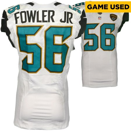 finest selection bf641 ccc24 Dante Fowler Jacksonville Jaguars Game-Used #56 White Jersey vs. Detroit  Lions on November 20, 2016 - Fanatics Authentic Certified - Walmart.com