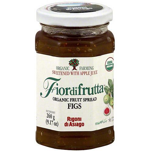 Fiordifrutta Organic Fig Fruit Spread, 9.17 oz (Pack of 6)