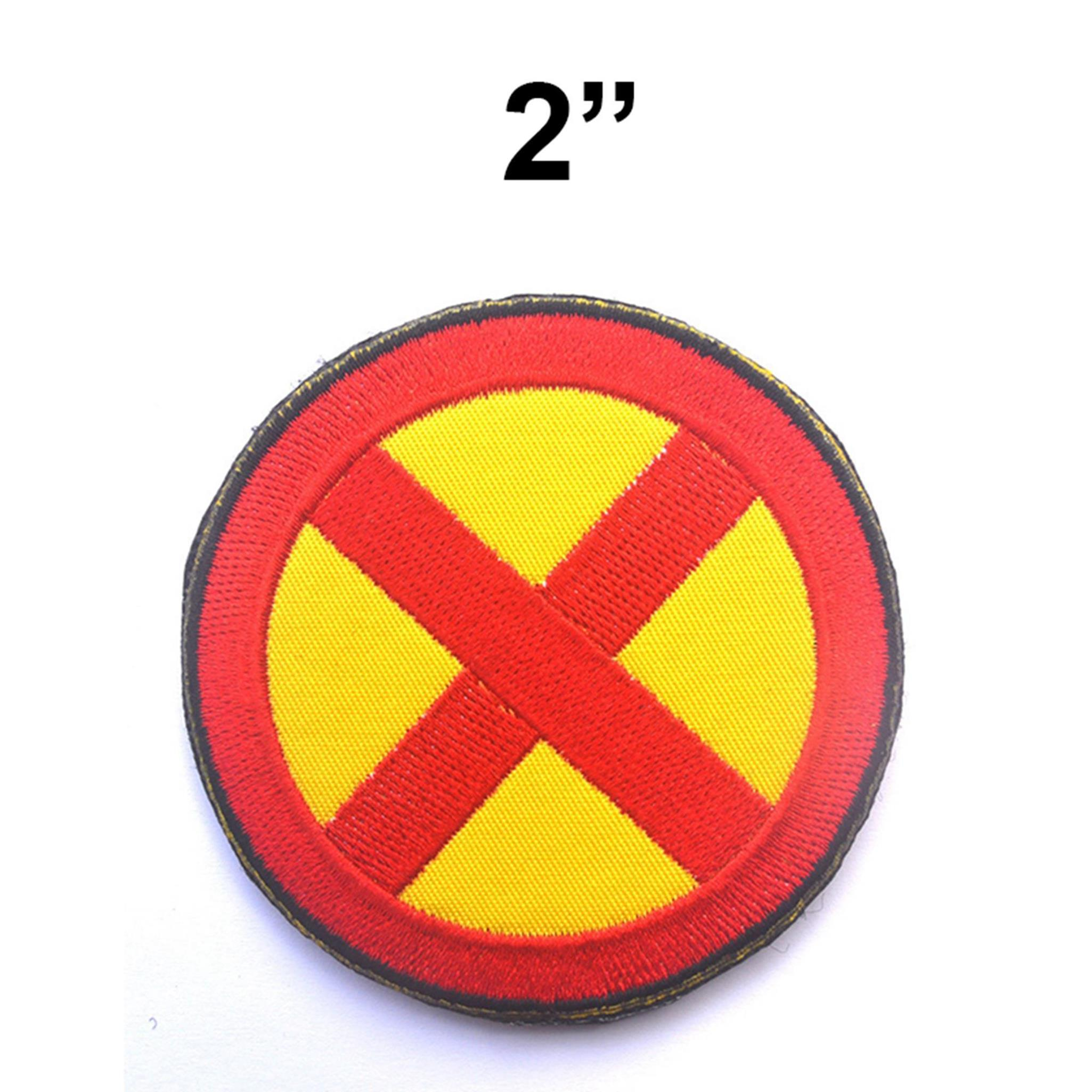 """Superheroes X-Men 2"""" Embroidered Iron/Sew-on Applique Patch"""