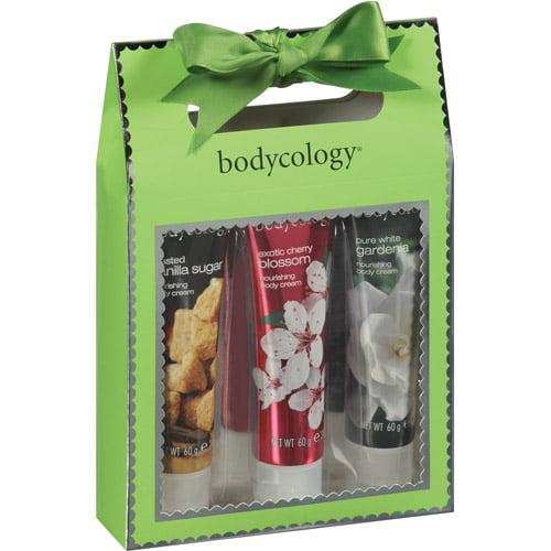 Bodycology Nourishing Body Cream Sampler, 2 oz, 3 count
