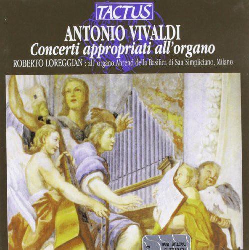 Vivaldi / Bach / Loreggian - Organ Concertos (Tr. J.S. Bach) [CD]
