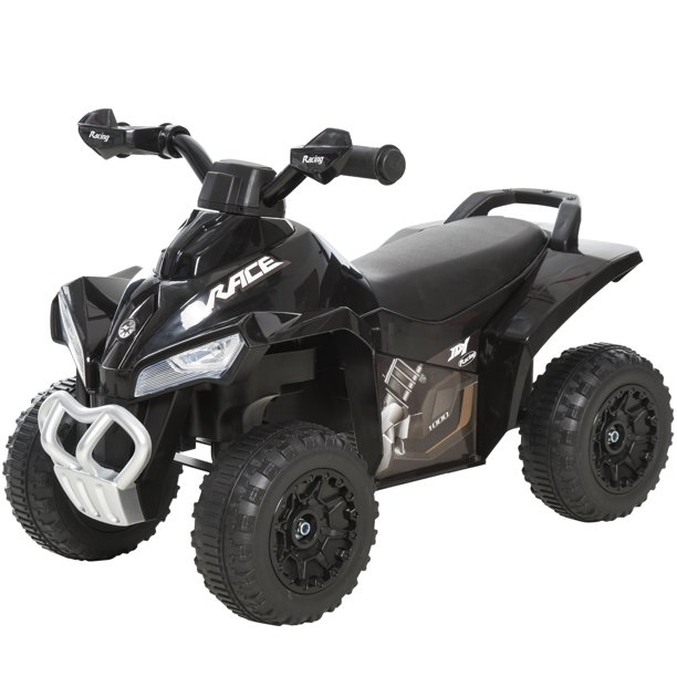 Aosom Ride On Toy For Kids 4 Wheel Foot