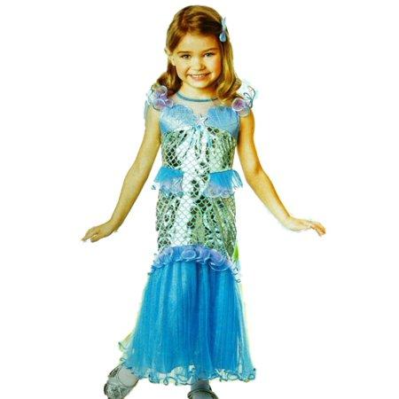 c3ec738eb1f8 Toddler Girls Magical Mermaid Costume Dress 2T - Walmart.com