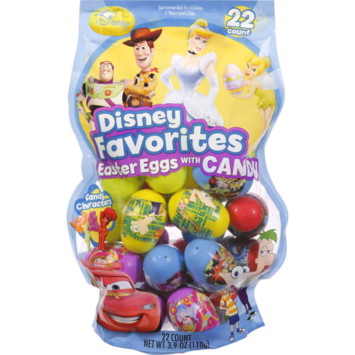 Frankford Disney Favorites Easter Eggs with Candy, 22ct