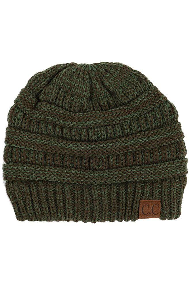 ScarvesMe CC Beanie Mix Color Two Tone Hat