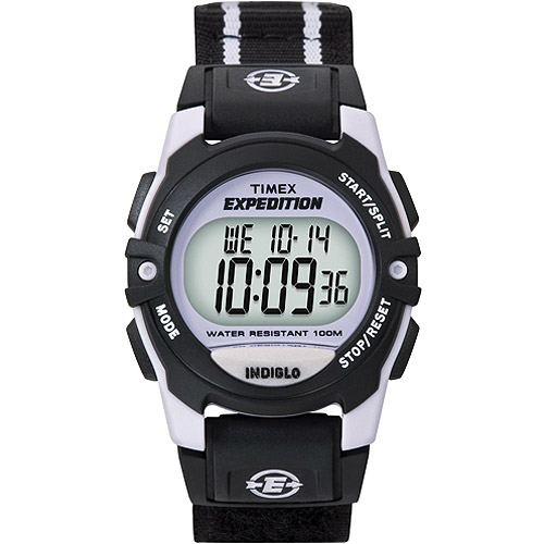 Timex Women's Expedition Trail Series CAT Watch, Black Nylon Strap