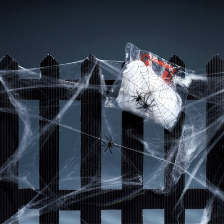 Halloween indoors or outdoors Cobwebs - Cobweb Eyes Halloween