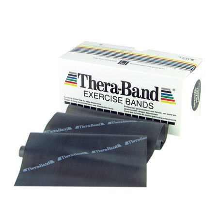 Theraband 6 Yard Exercise Band - Special Heavy - Black