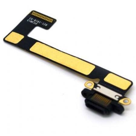 Apple iPad Mini 2/3 2nd/3rd gen Charging Port Flex Cable Ribbon Replacement - Black - image 1 de 1