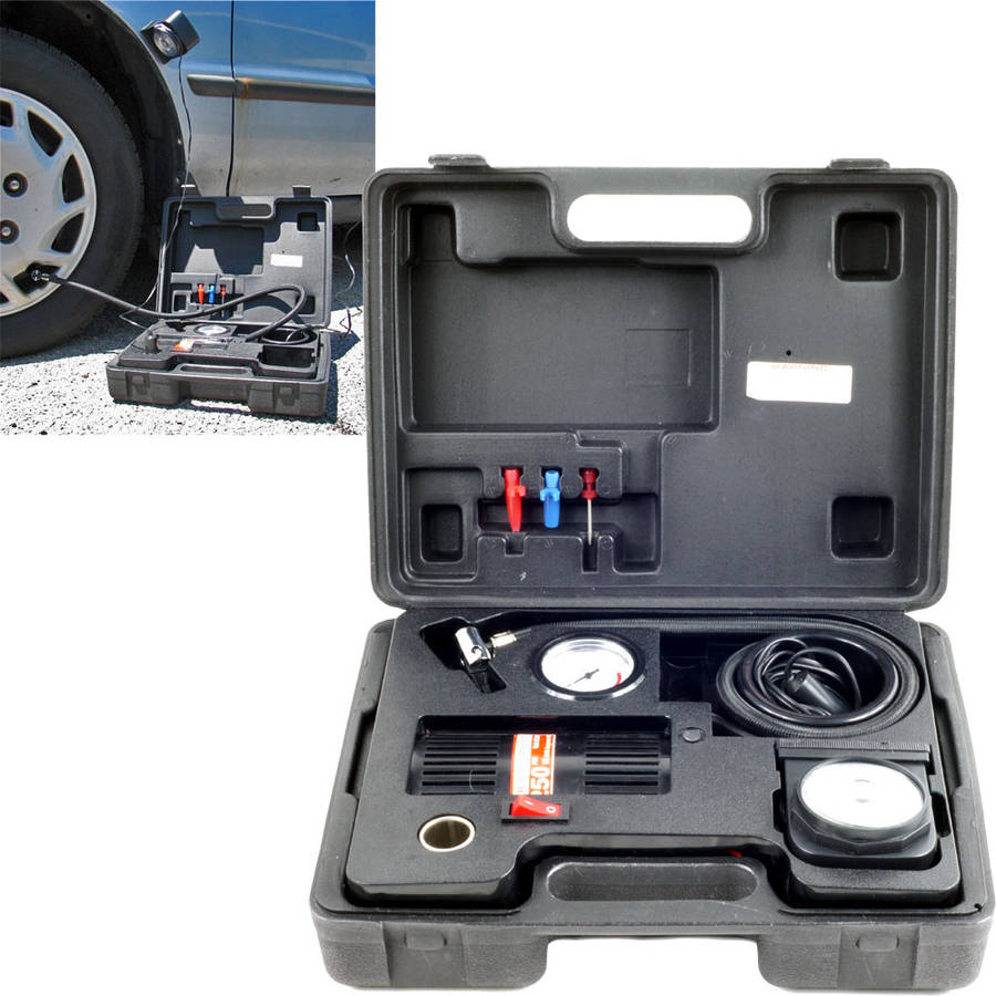 Stalwart Portable Air Compressor Kit With Light