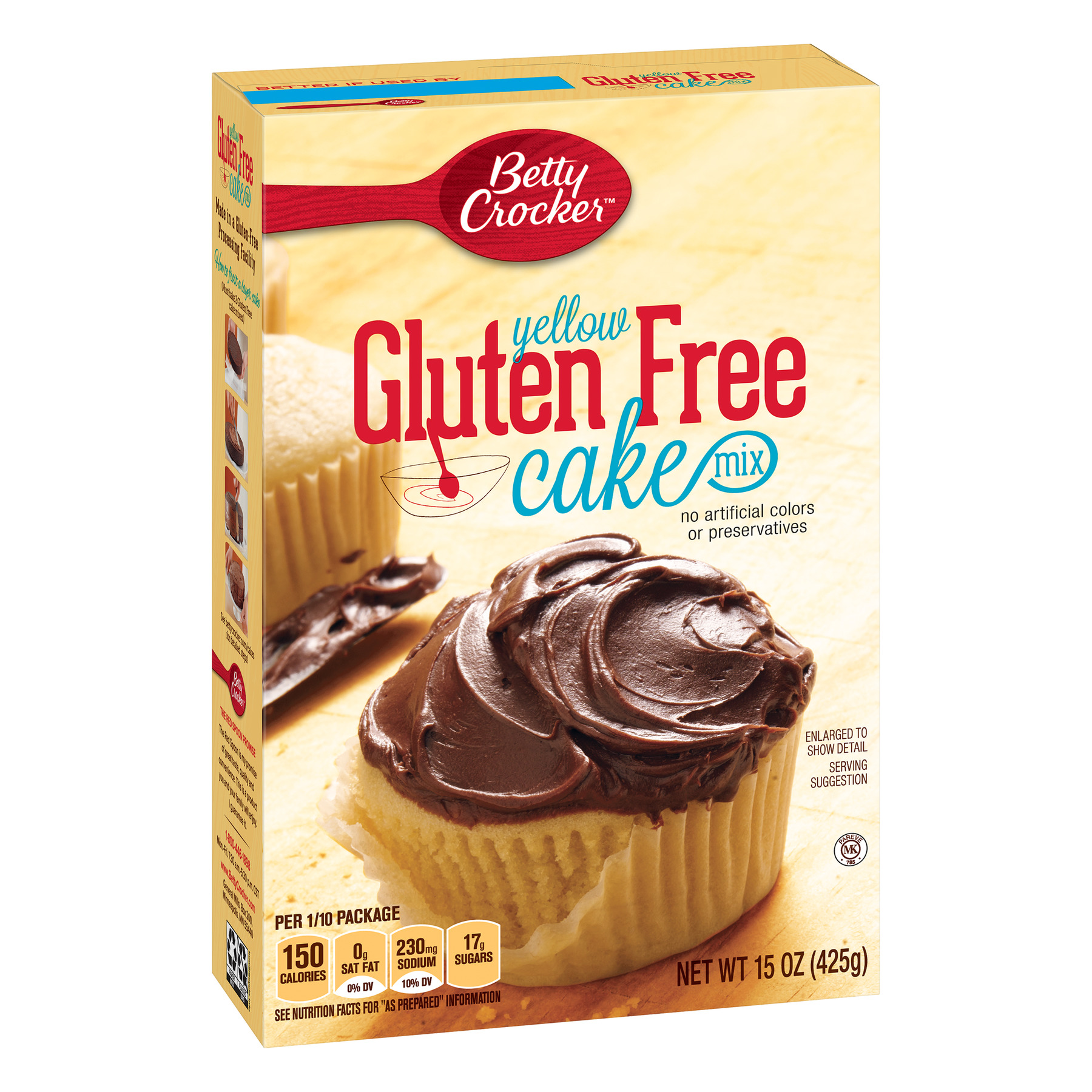 Betty Crocker Gluten Free Yellow Cake Mix, 15 Oz