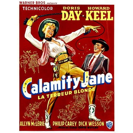 Calamity Jane Doris Day Howard Keel 1953 Movie Poster Masterprint ()