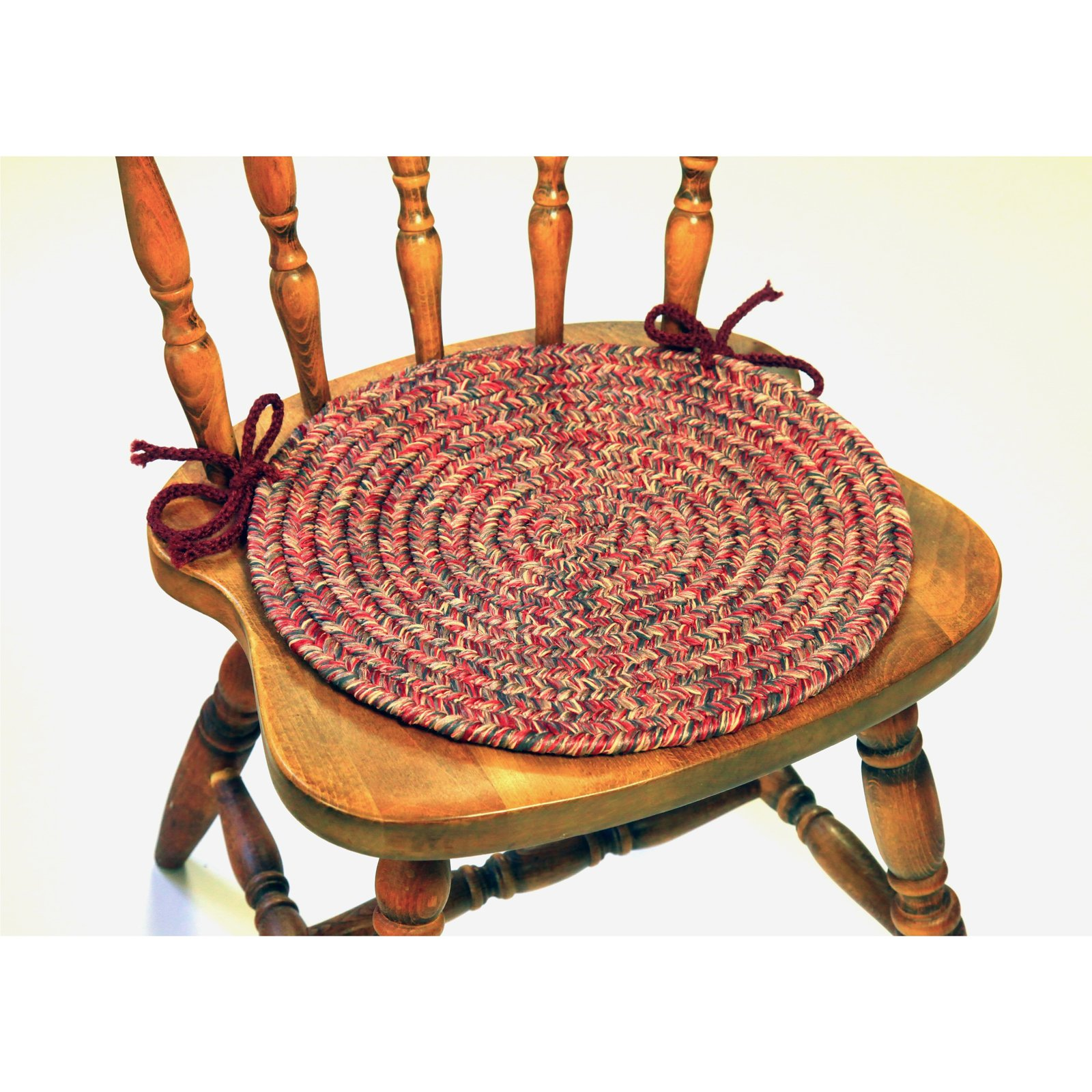 Rhody Rug Suzan 15 in. Chair Pads - Set of 4