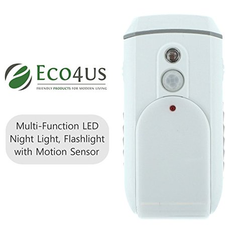 Eco4us Multi Function Led Night Light Flashlight With Motion