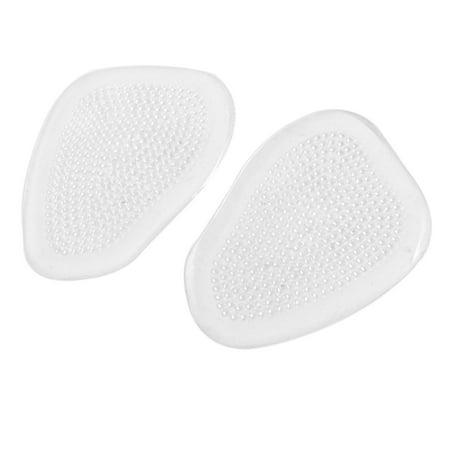 Unique Bargains Soft Silicone Nonslip Fatigue Relief Foot Massage Mat Insole Metatarsal Pad