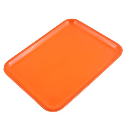 Hotel Restaurant Plastic Food Drinks Serving Tray Yellow 10