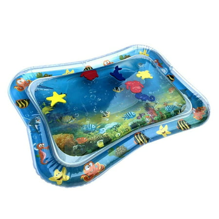 Supersellers Inflatable Fun Water Play Mat for Kids Baby Children Infants Best Tummy Time (Best Baby Mats And Gyms)