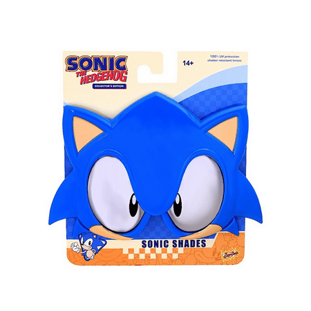 Party Costumes - Sun-Staches - Sonic the Hedgehog SEGA New - Sonic The Hedgehog Boys Costume