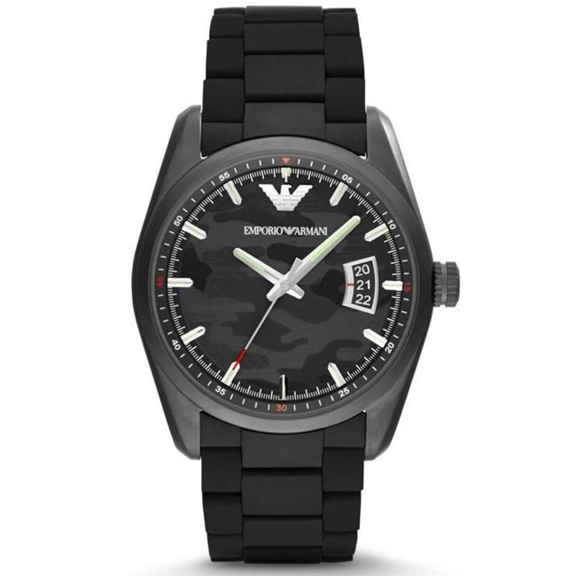 AR6052 Emporio Armani Sport Rubber Mens Watch
