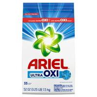 Ariel, with Ultra Oxi, Powder Laundry Detergent, 52 oz 33 loads