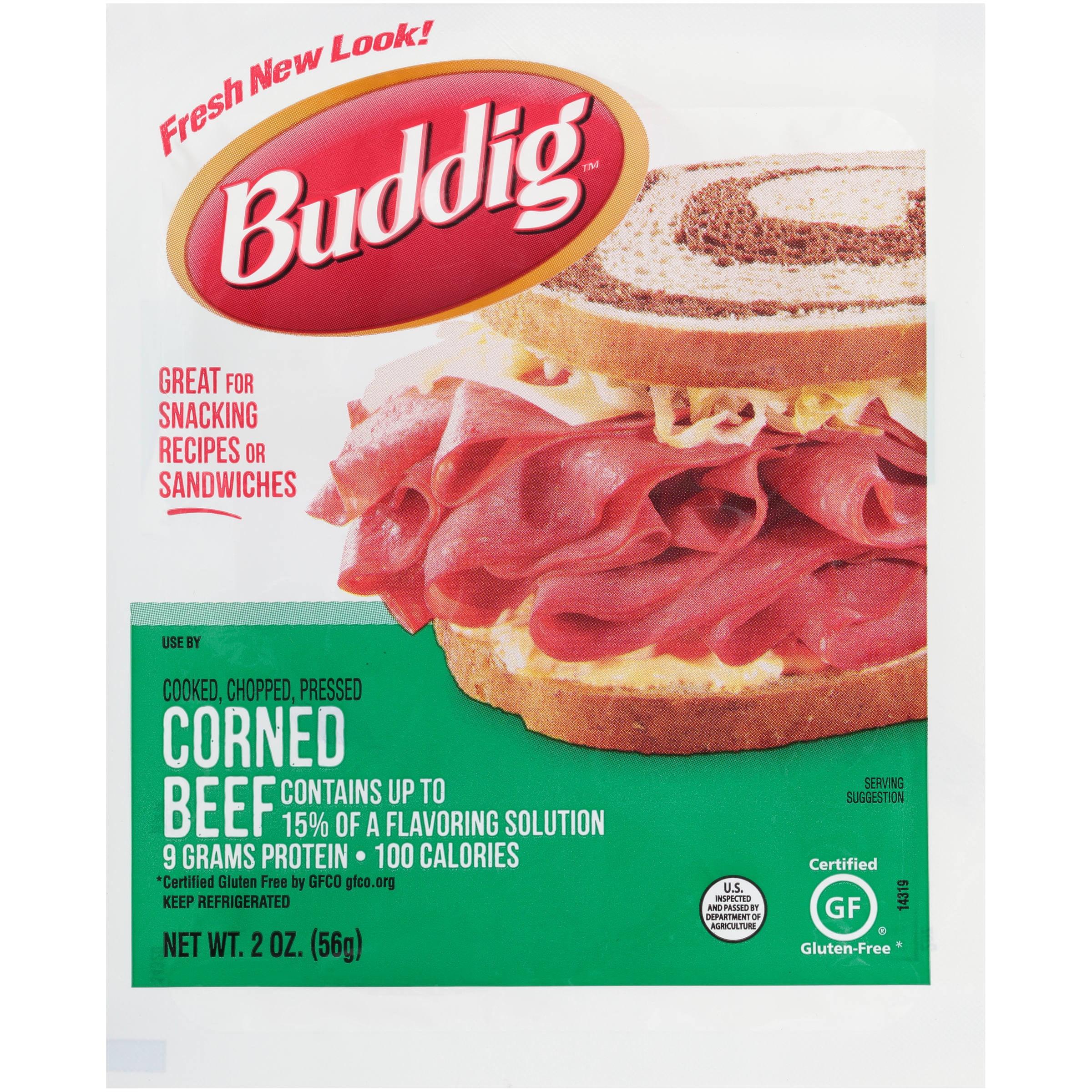 Buddig Original Corned Beef 2 Oz Walmart Com Walmart Com