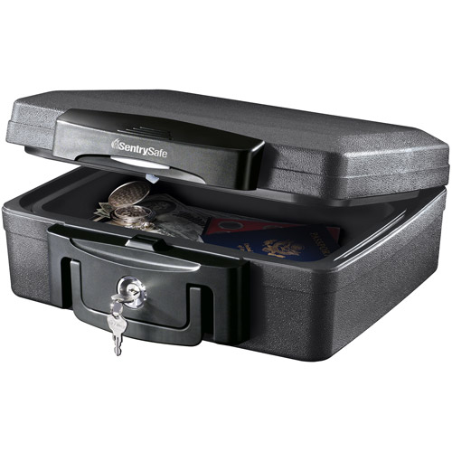 Available for Store Pick Up ONLY! SentrySafe H0100 .17 cu ft Waterproof Fire Chest