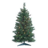 Sterling 3Ft. Pre-Lit Colorado Spruce with 100 Clear Lights