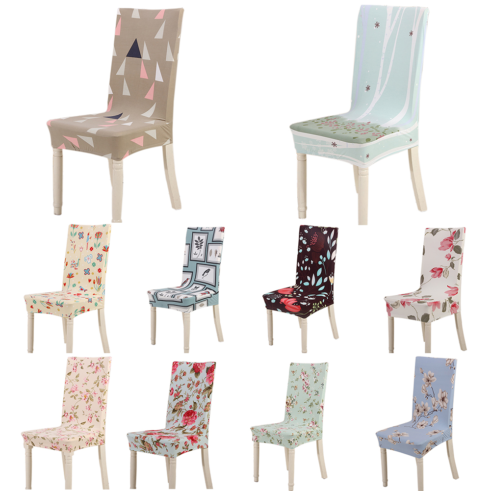 Directer Fashion Dustproof Chair Cover Stretch Home Hotel Office Seat Protector Decor