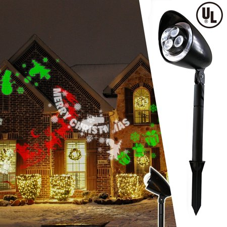 Christmas Festival Indoor & Outdoor Dual Use LED Projector Light - Landscape