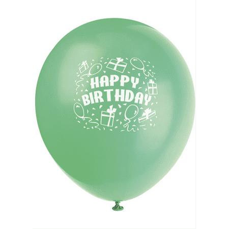6 Latex Balloons Birthday Gifts
